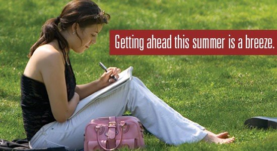 Enrol for an online summer course, become a pro