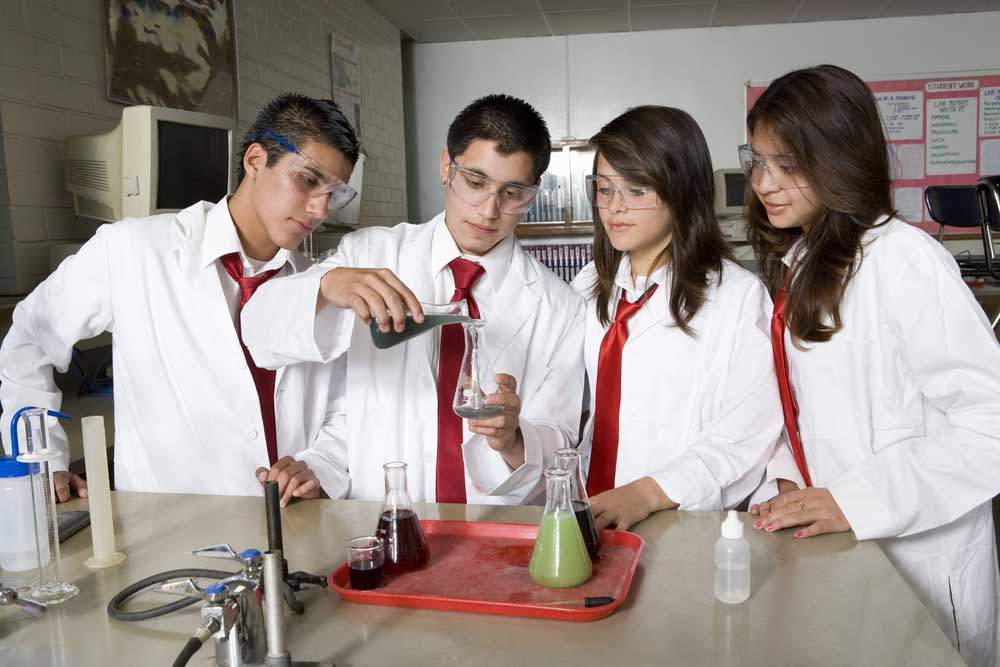 Chemistry Students