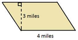 area of 2d figures