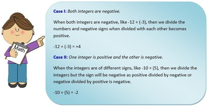 word problems on multiplying and dividing negative numbers