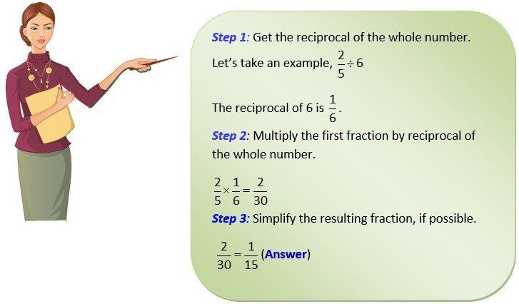 fractions and whole numbers