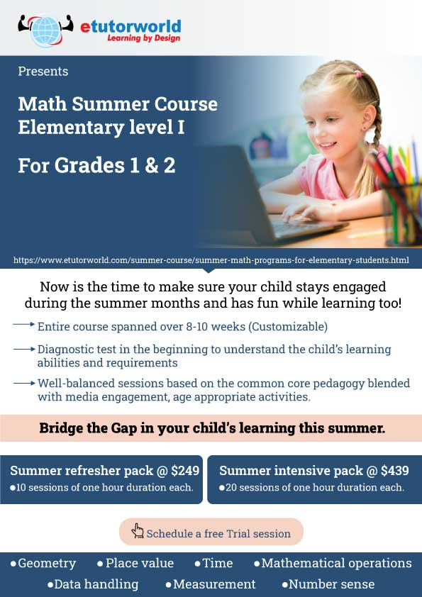 Summer Course Elementary Level 1
